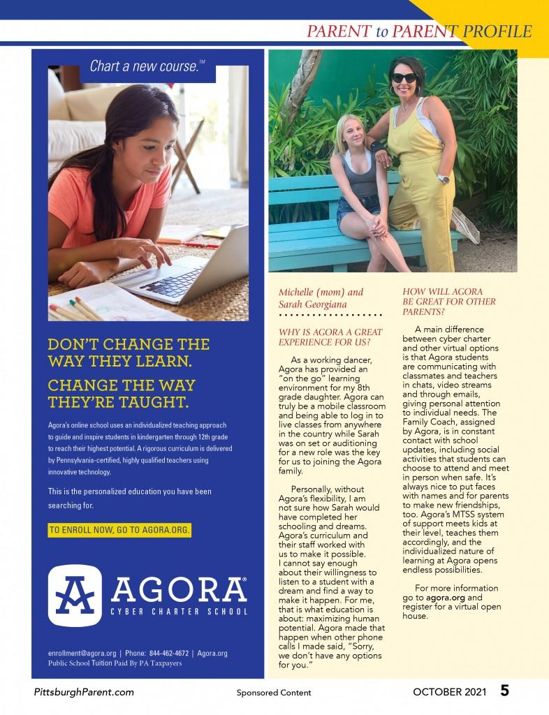 Oct 21 Issue Agora Parent To Parent